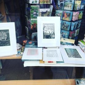 Guadalupe prints in The Bantry Bookshop © Jonathan Brennan