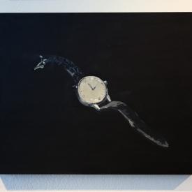 The Watch. Acrylic on panel © Jonathan Brennan, 2019