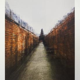 Belmont Alley. Limited edition giclée print © Jonathan Brennan Art