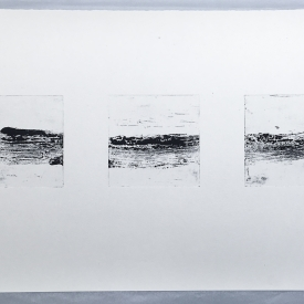 Timestretched - etching / aquatint on Hahnemuhle © Jonathan Brennan, 2018